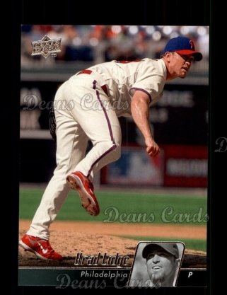 2010 Upper Deck #383  Brad Lidge