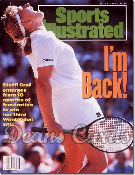 1991 Sports Illustrated - No Label   July 15  -  Steffi Graf