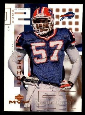 2002 Upper Deck MVP #25  Kenyatta Wright