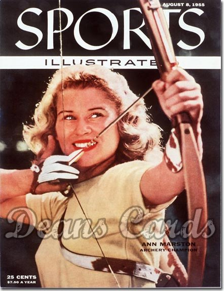 1955 Sports Illustrated - With Label   August 8  -  Ann Marston