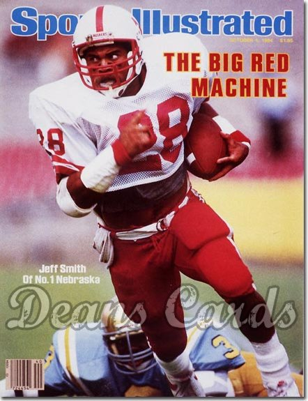 wholesale dealer 655e5 5696e 1984 Sports Illustrated - No Label October 1 - Jeff Smith (Nebraska  Cornhuskers)