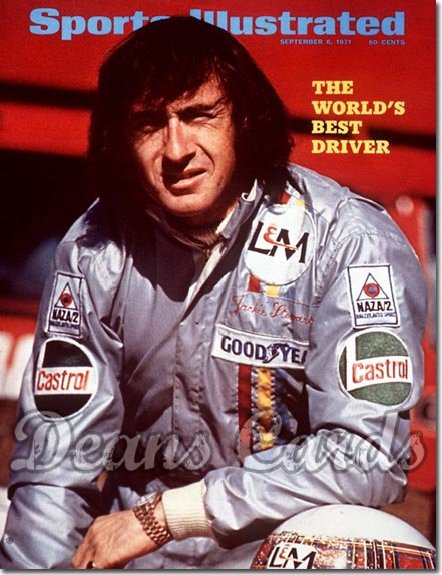 1971 Sports Illustrated - With Label   September 6  -  Jackie Stewart
