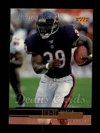 1999 Upper Deck #37  Curtis Enis