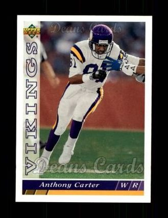1993 Upper Deck #495  Anthony Carter