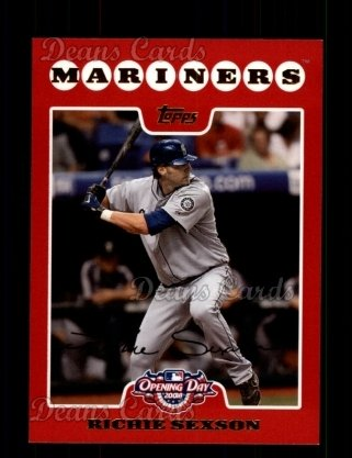 2008 Topps Opening Day 109 Richie Sexson