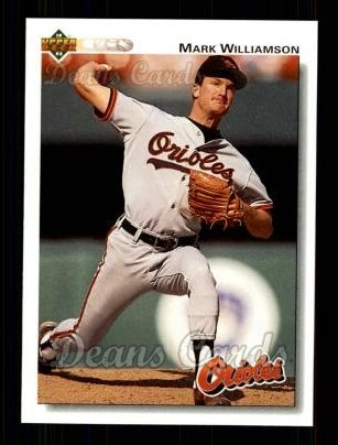 1992 Upper Deck #609  Mark Williamson