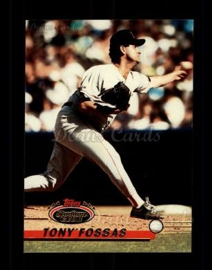 1993 Topps Stadium Club #247  Tony Fossas