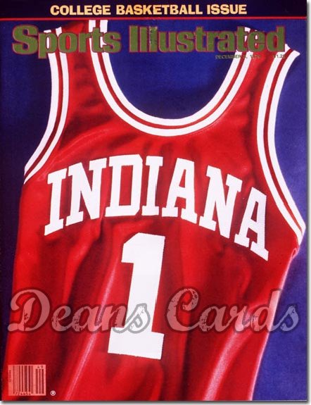 1979 Sports Illustrated - With Label   December 3  -  Indiana Hoosiers Jersey