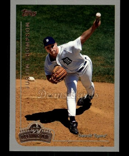 1999 Topps Opening Day #26  Justin Thompson