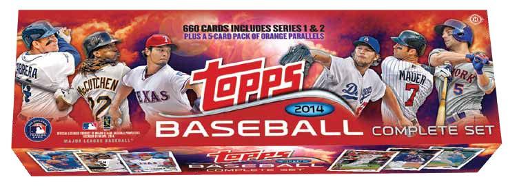 2014 Topps 2014 Topps Baseball Complete Factory Sealed Set