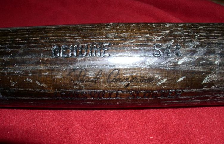 Dave Concepcion Game Used Bat
