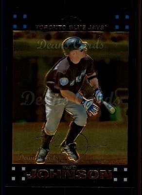 2007 Topps Chrome #102  Reed Johnson