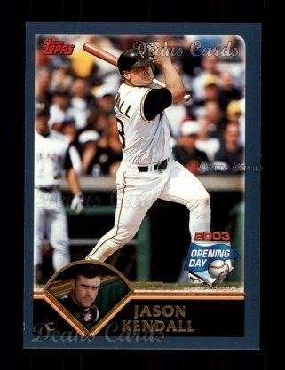 2003 Topps Opening Day #119  Jason Kendall