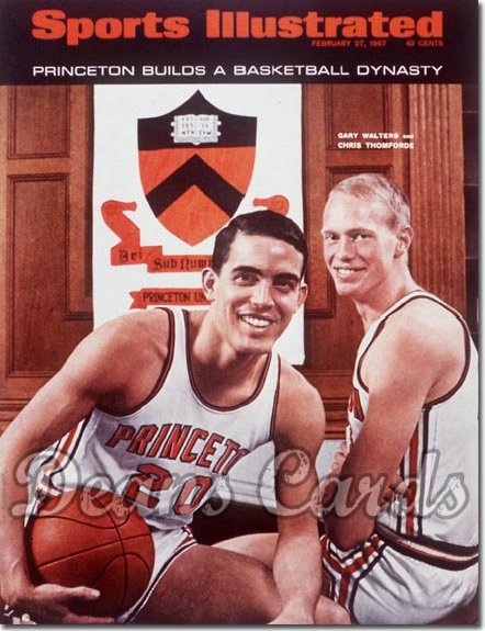 1967 Sports Illustrated - With Label   February 27  -  George Walters & Chris Thomforde (Princeton)