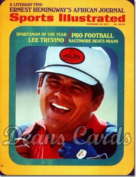 1971 Sports Illustrated - With Label   December 20  -  Lee Trevino (Sportsmanofthe Year)