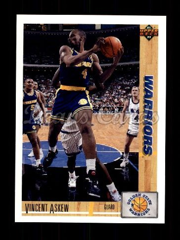 1991 Upper Deck #410  Vincent Askew