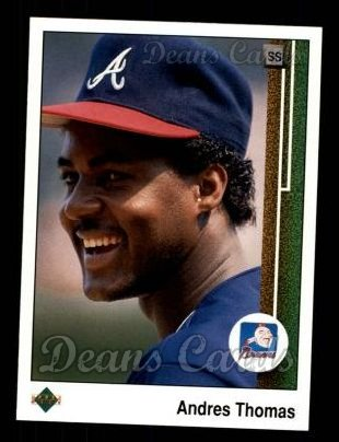 1989 Upper Deck #144  Andres Thomas