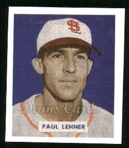 1949 Bowman REPRINT #131  Paul Lehner