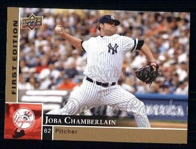 2009 Upper Deck First Edition #208  Joba Chamberlain