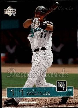 2003 Upper Deck #451  Alex Gonzalez