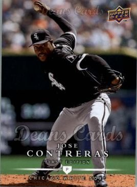 2008 Upper Deck First Edition #236  Jose Contreras