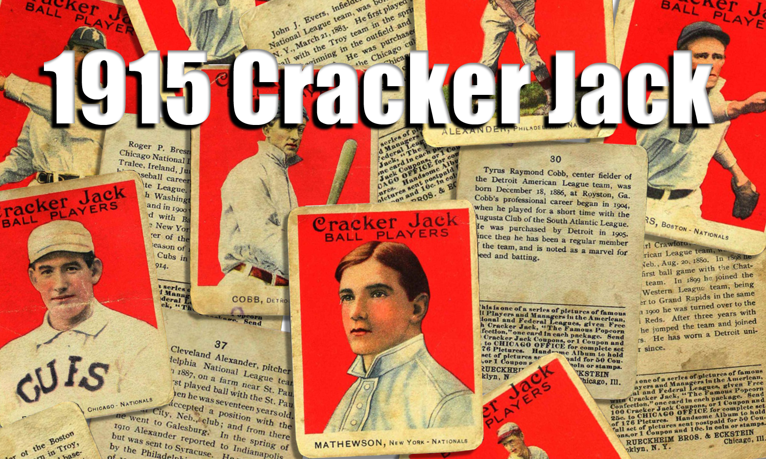 1915 Cracker Jack Baseball Cards