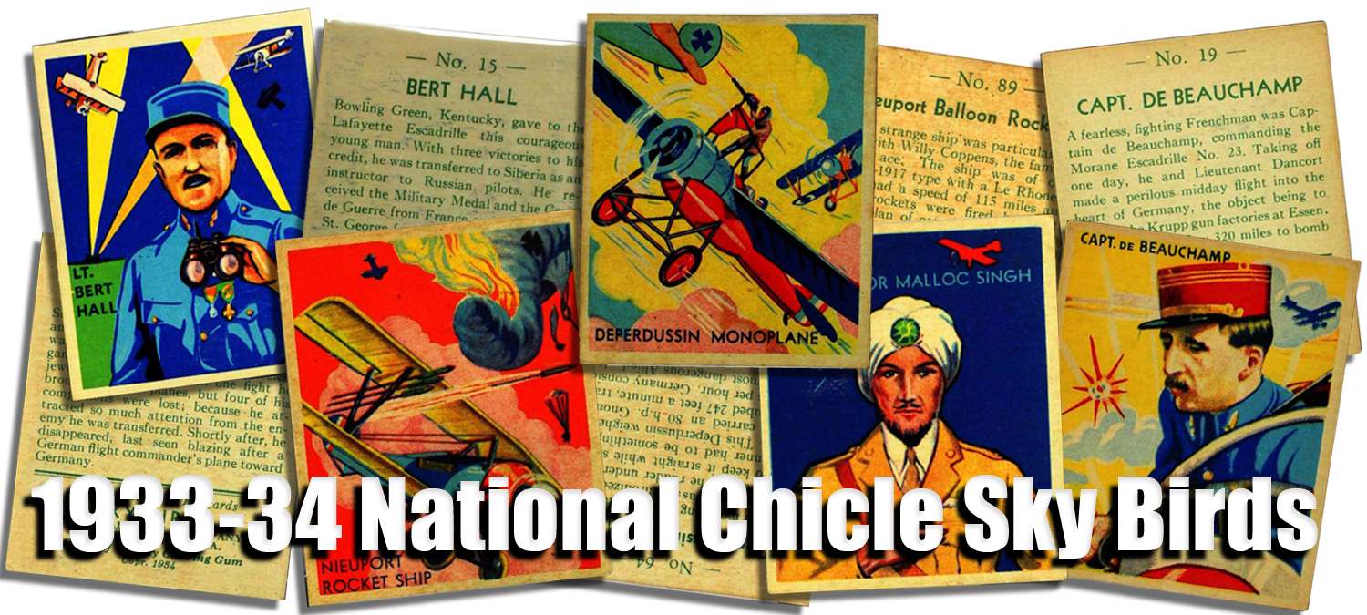 1933-34 National Chicle Sky Birds