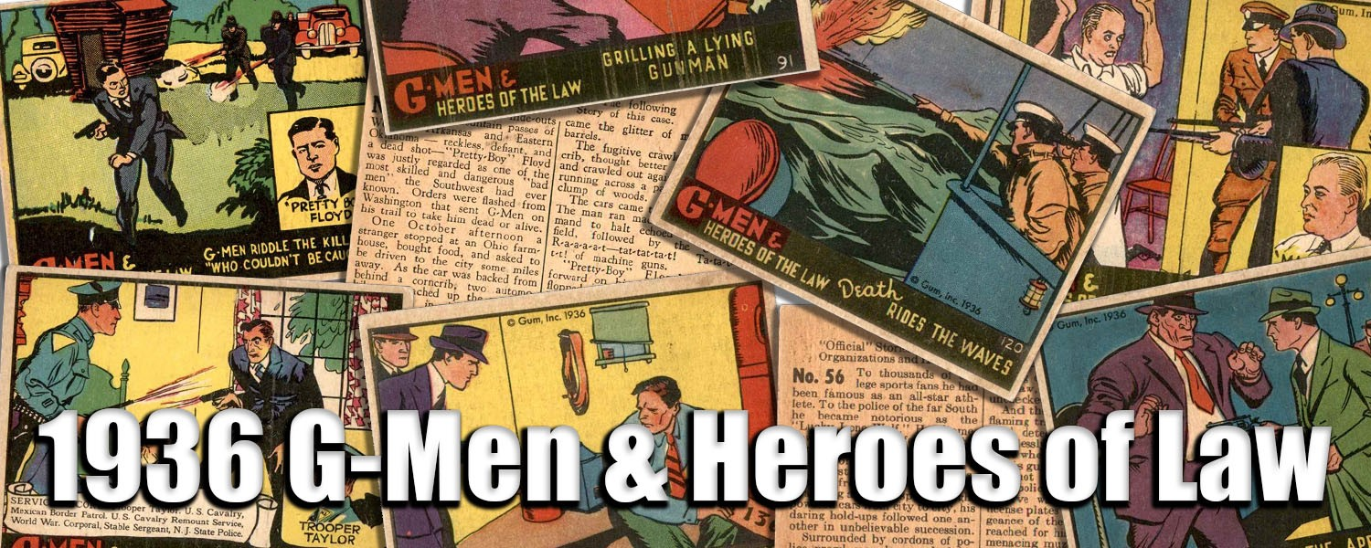 1936 G-Men and Heroes of the Law