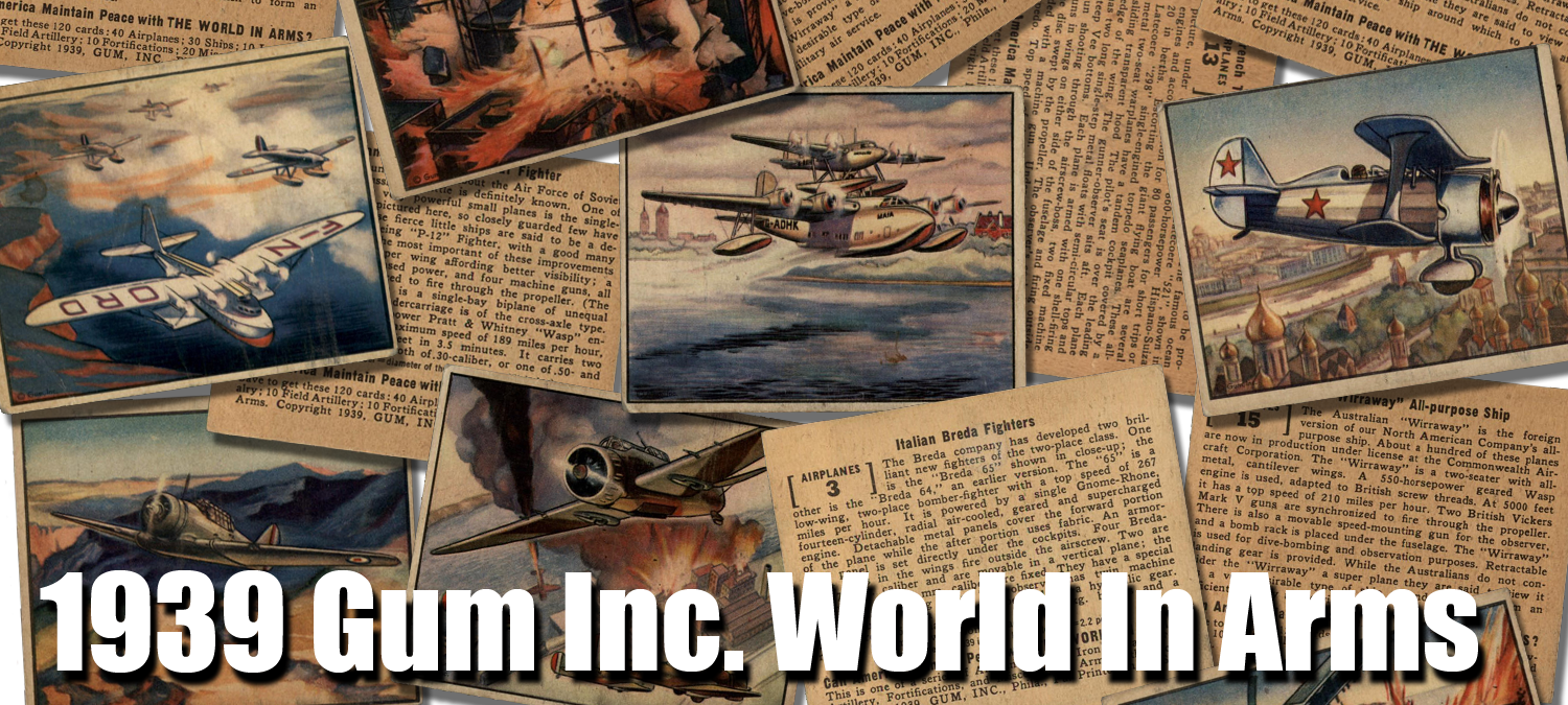 1939 Gum Inc. World In Arms