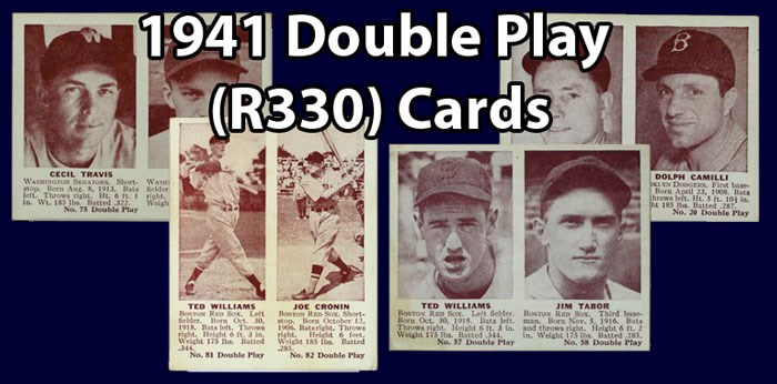 1941 Double Play (R330) Baseball Cards