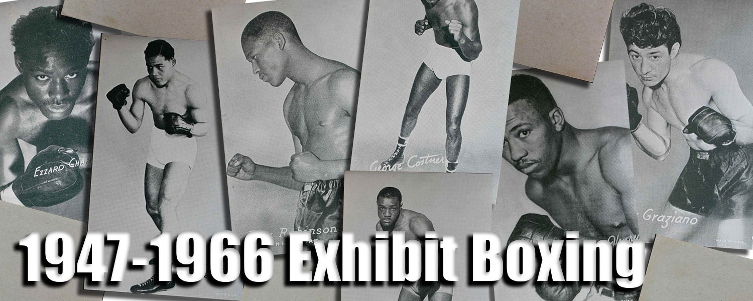 1947-66 Exhibit Boxing Cards