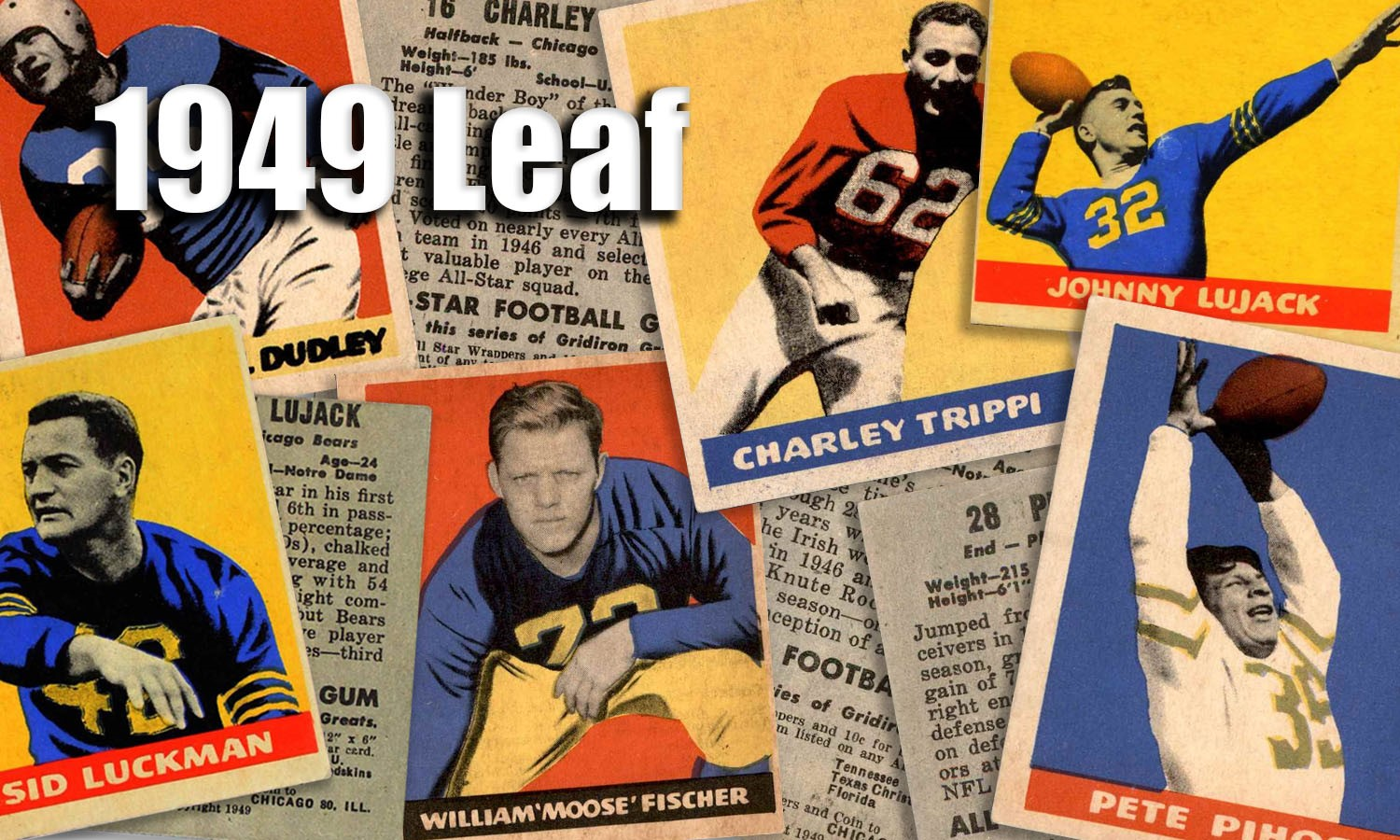 1949 Leaf Football Cards