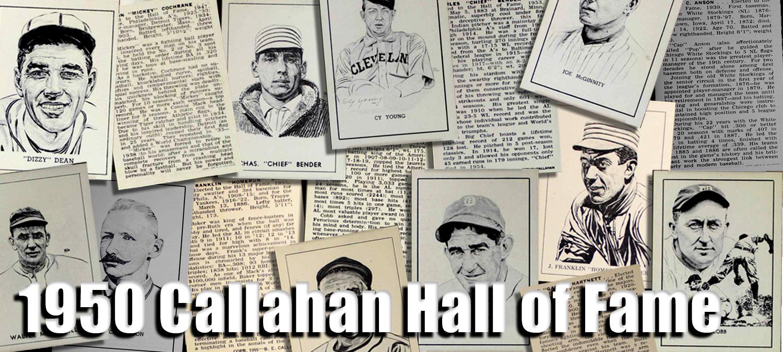 Buy 1950 Callahan Hall Of Fame Baseball Cards Sell 1950 Callahan