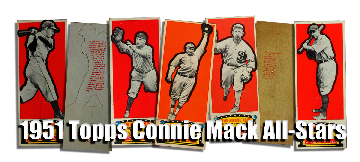 1951 Topps Connie Mack All-Stars Baseball Cards