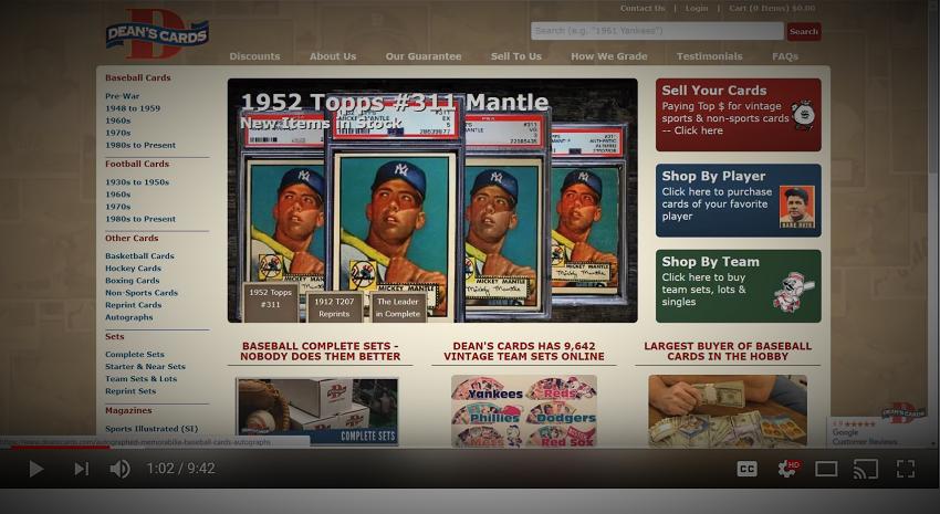 Buy Vintage Complete Baseball Card Sets Sell Your Vintage