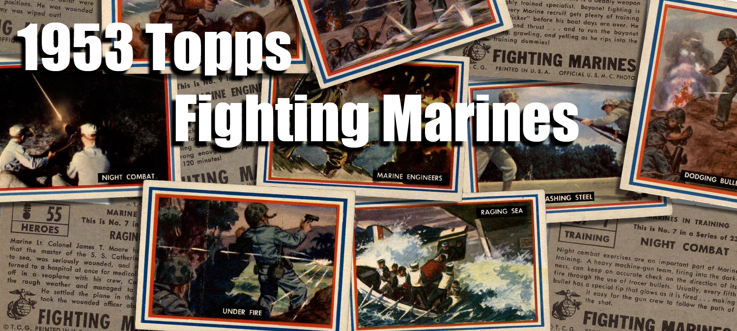 1953 Topps Fighting Marines