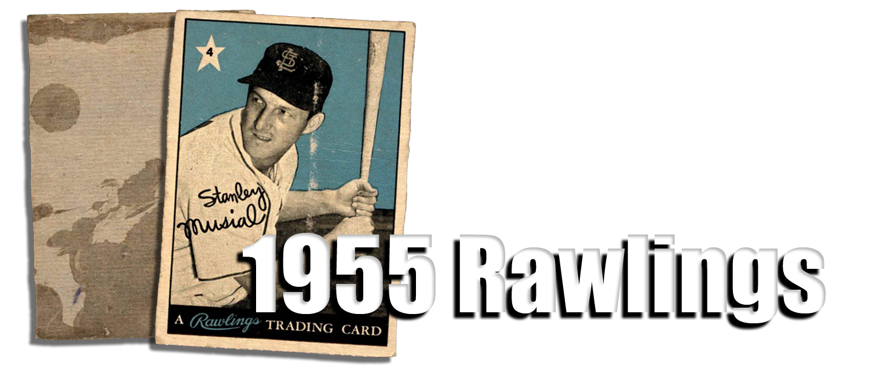 Buy 1955 Rawlings Baseball Cards Sell 1955 Rawlings Baseball Cards