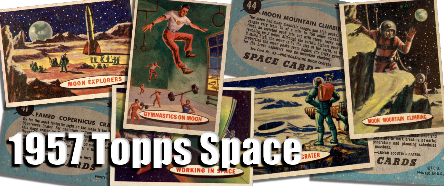 1957 Topps Space