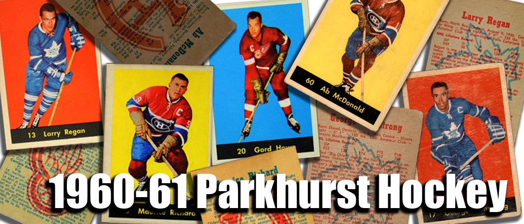 1960-61 Parkhurst Hockey Cards