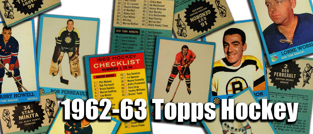1962-63 Topps Hockey Cards