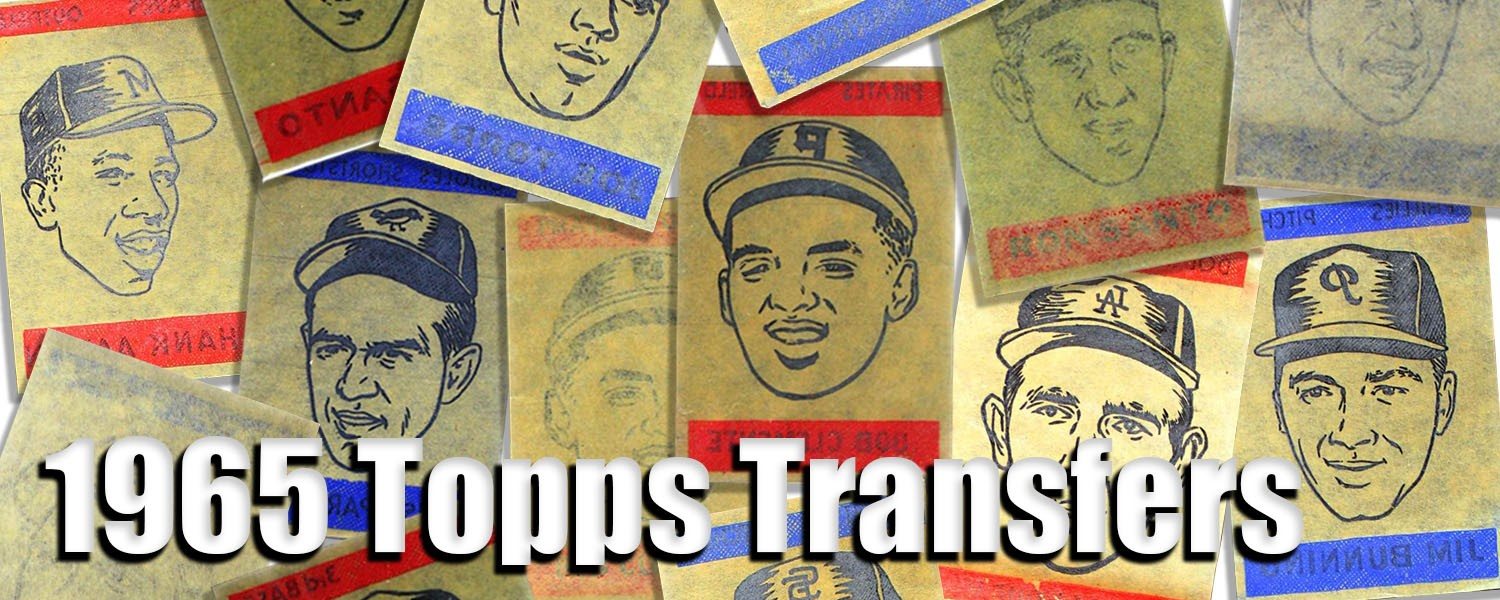 1965 Topps Transfers