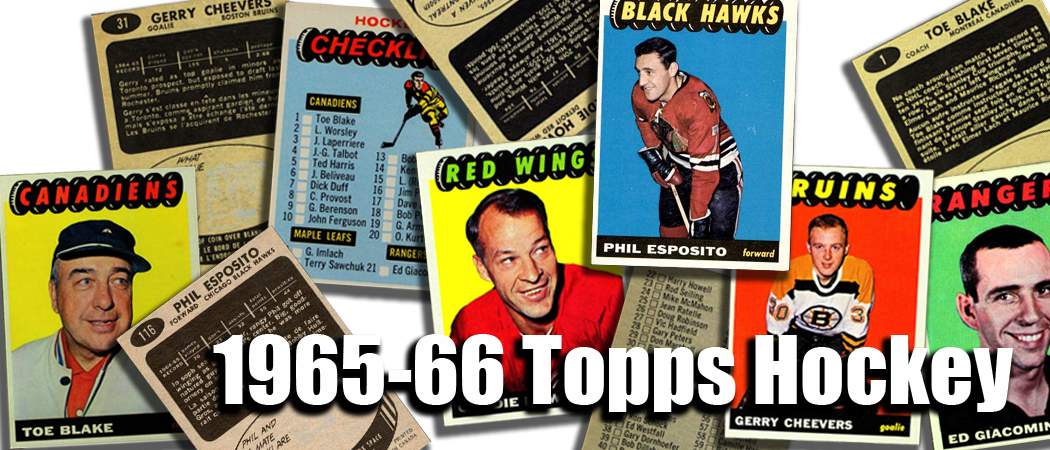 1965-66 Topps Hockey Cards