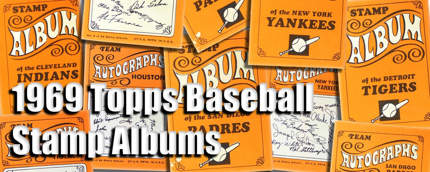 Buy 1969 Topps Baseball Stamp Albums Cards, Sell 1969 Topps