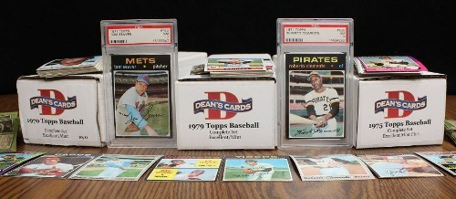 1970s Topps Baseball Card Complete Sets
