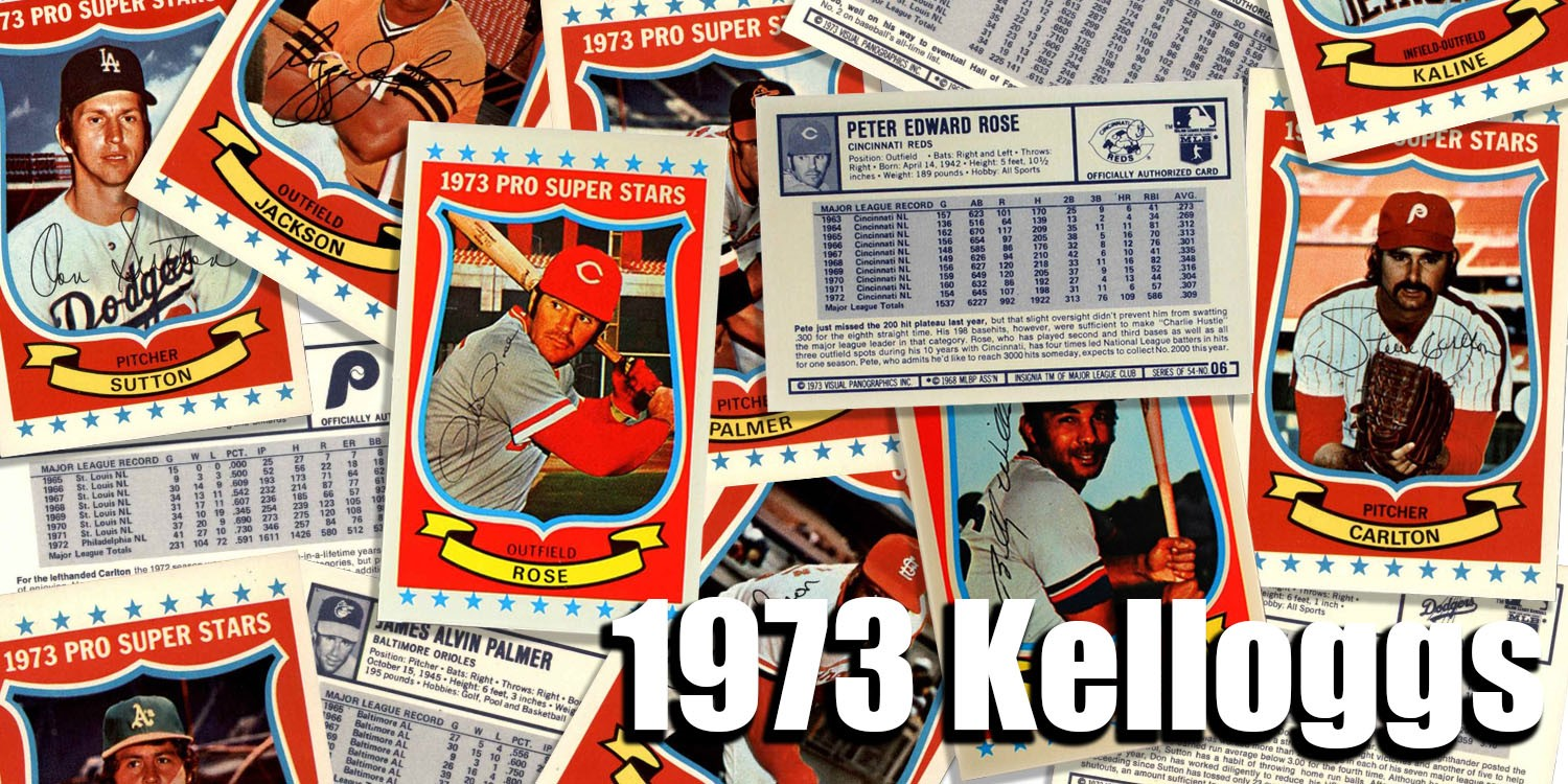 1973 Kelloggs Baseball Cards