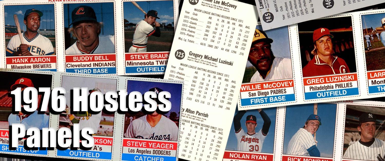 Buy 1976 Hostess Baseball Card Panels Cards Sell 1976