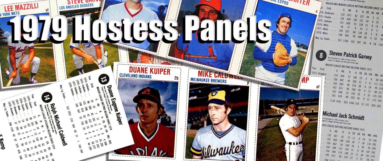 1979 Hostess Baseball Card Panels