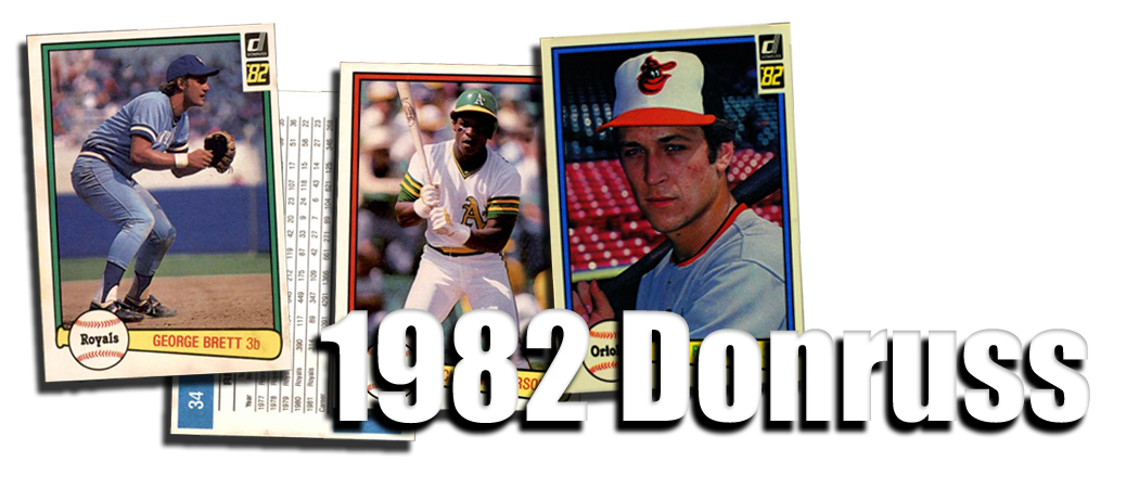1982 Donruss Baseball Cards