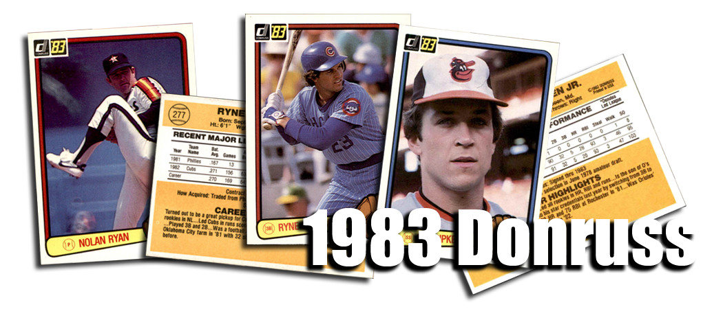 1983 Donruss Baseball Cards