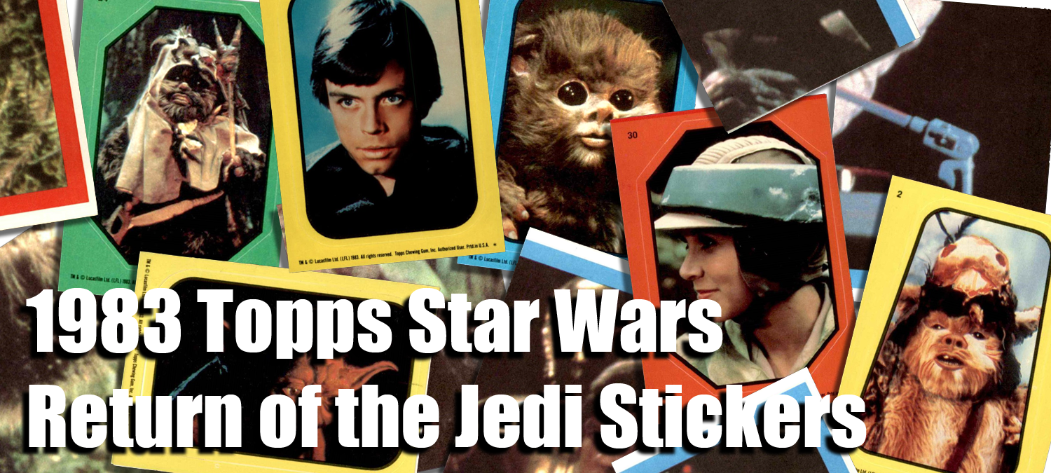 1983 Topps Star Wars Return of the Jedi Stickers